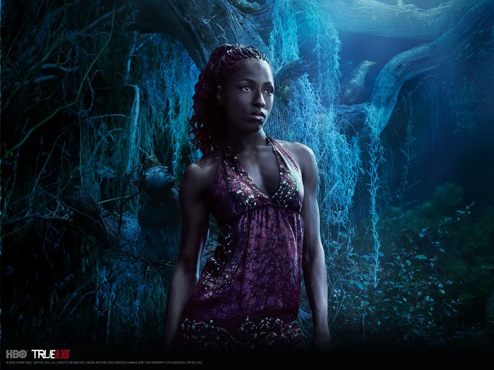 Wallpeper: Rutina Wesley per la stagione 3 di True Blood