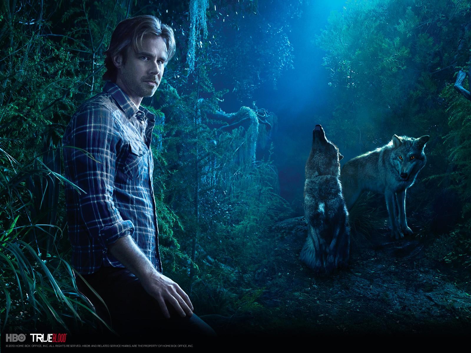Wallpeper: Sam Trammell per la stagione 3 di True Blood
