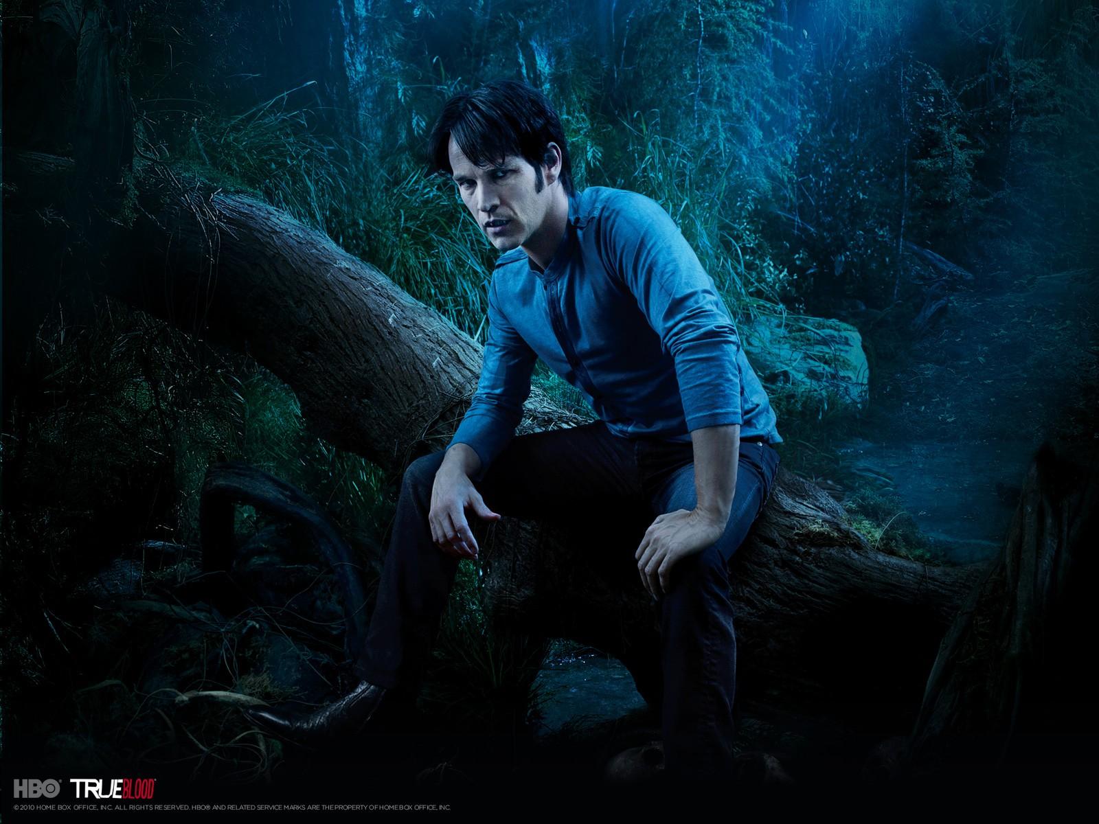 Wallpeper: Stephen Moyer per la stagione 3 di True Blood