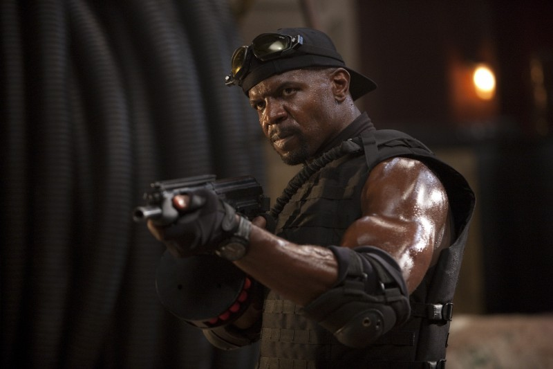 Terry Crews nel film The Expendables