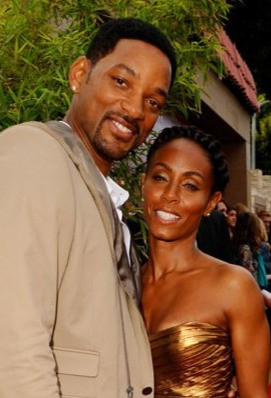 I produttori Will Smith e Jada Pinkett Smith alla premiere di Karate Kid a Los Angeles