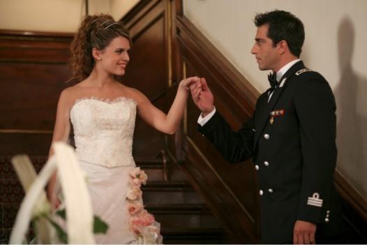Pamela Saino e Simone Montedoro in Don Matteo 7 (ep. Balla con me) 2009
