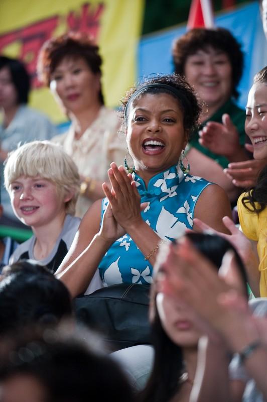 Taraji P. Henson è la madre del giovane Dre nel film Karate Kid