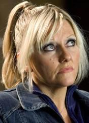 Camille Coduri in una scena di Doctor Who