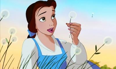 La protagonista del film d\'animazione La bella e la bestia della Walt Disney Pictures