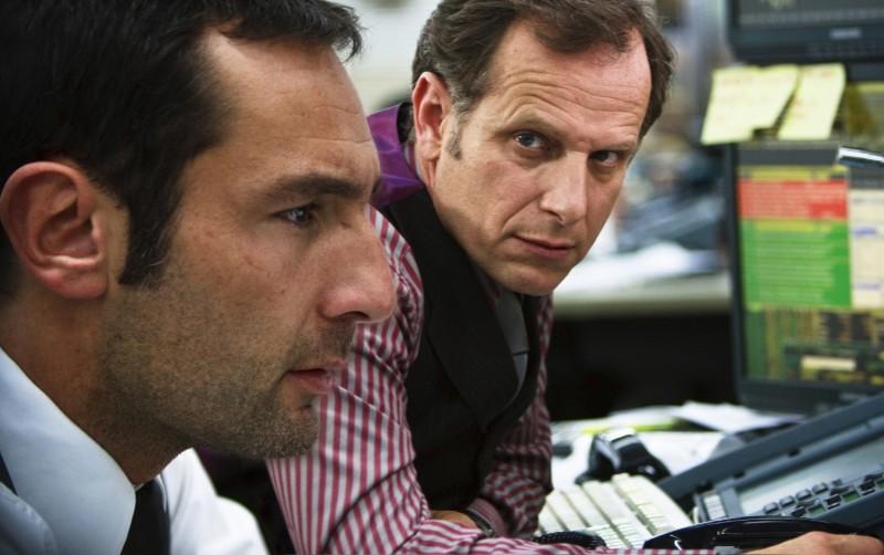 Gilles Lellouche e Charles Berling in una scena del film Krach