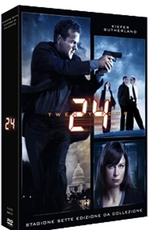 La copertina di 24 - Stagione 7 (dvd)