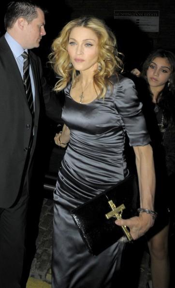 Madonna alla sua festa di compleanno nel 2010