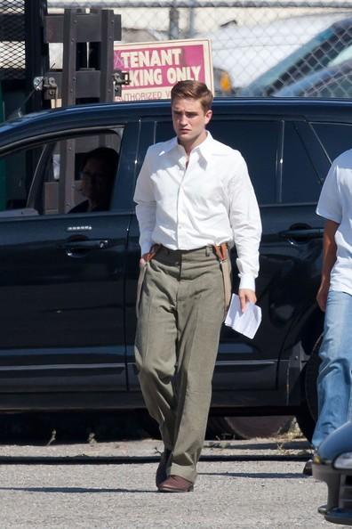 Pattinson sul set di Water for Elephants