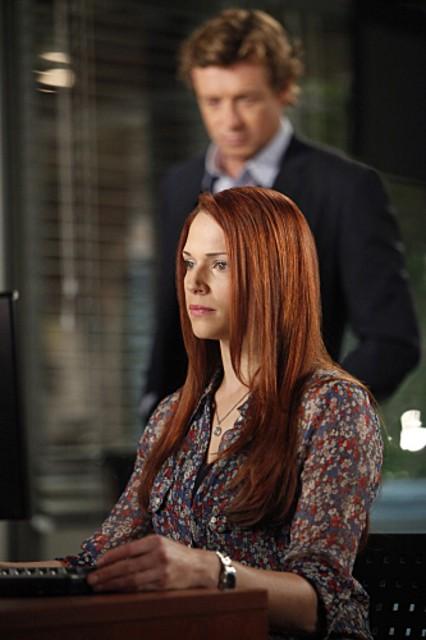 Amanda Righetti nell'episodio Red Sky In The Morning della serie The Mentalist