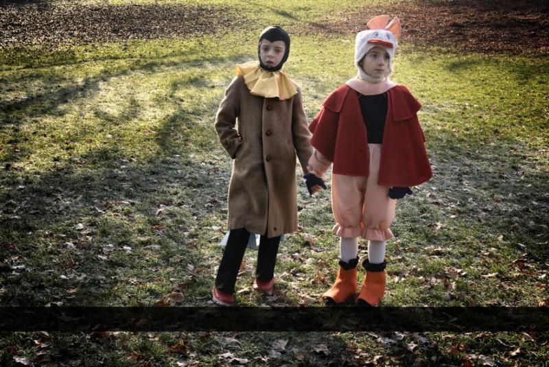 Il piccolo Tommaso Neri in un'immagine del film La solitudine dei numeri primi