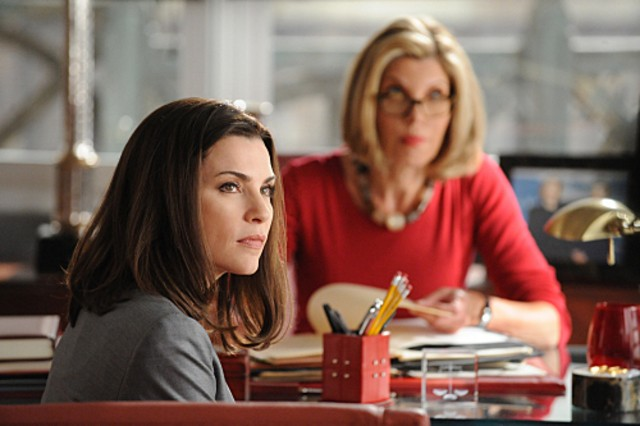 Julianna Margulies nell'episodio Taking Control di The Good Wife