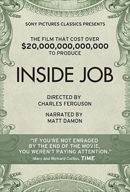 La locandina di Inside Job