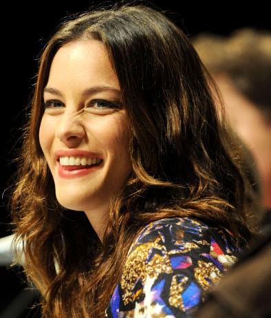 Una sorridente Liv Tyler