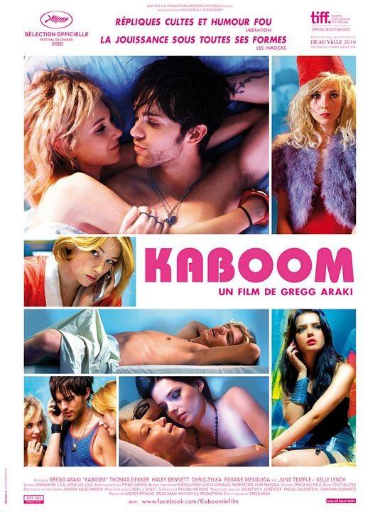 Locandina francese per Kaboom