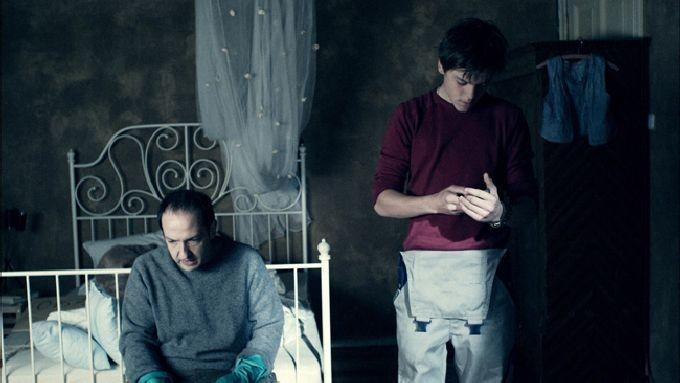 Michael Fuith e Theo Trebs in una scena dell'horror Rammbock