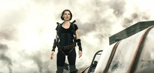 Milla Jovovich nel film Resident Evil: Afterlife