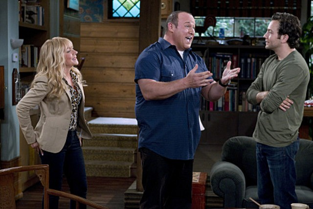 Nicole Sullivan, Will Sasso e Jonathan Sadowski nel pilot della serie $#*! My Dad Says