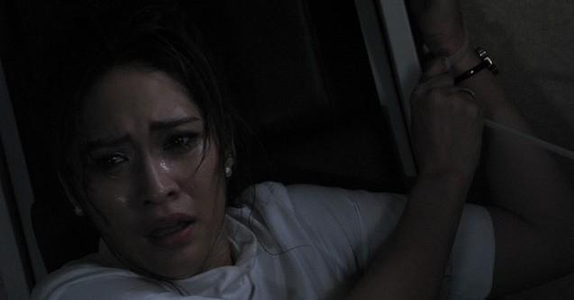 Primo piano di Cherman Boonyasak dall'episodio The Last Flight nell'horror 4bia