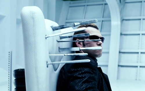 Shawn Roberts in una suggestiva immagine del film Resident Evil: Afterlife