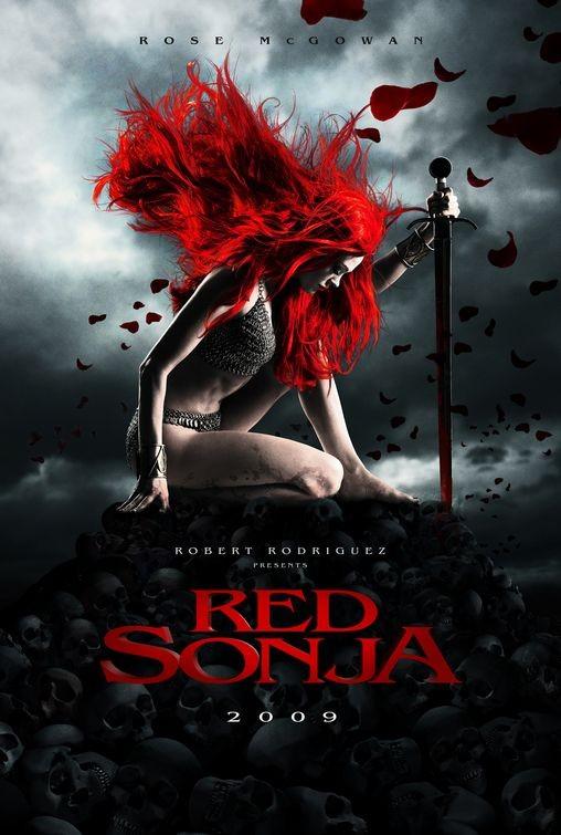 Teaser poster di Red Sonja