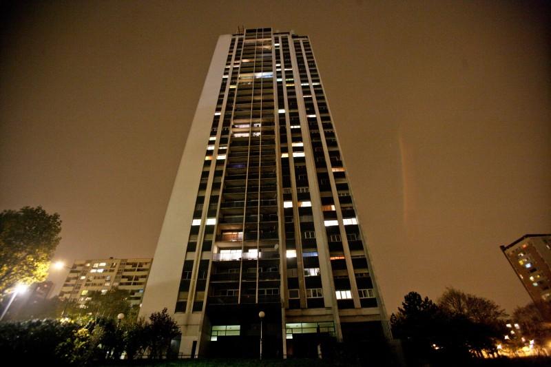 Un'immagine dell'edificio al centro delle vicende dell'horror La Horde