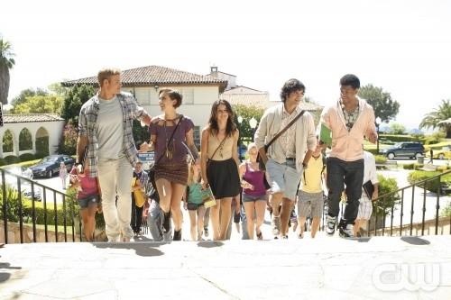 Una scena dell'episodio Senior Year, Baby, premiere della stagione 3 di 90210