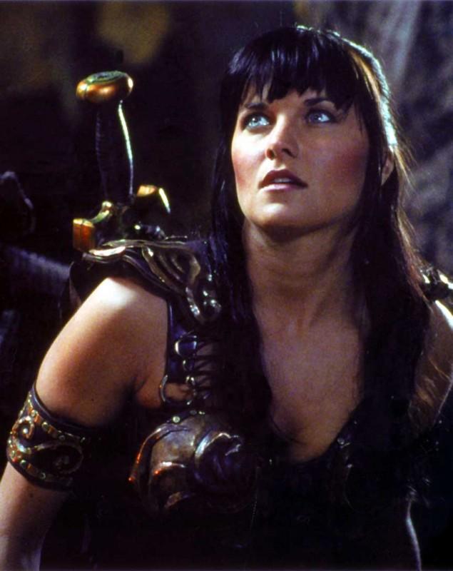 Xena, stagione 2: Lucy Lawless in una foto promo