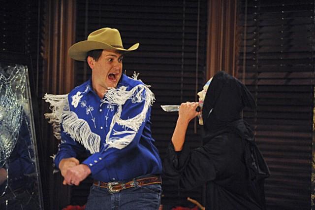 Jason Segel in una scena dell'episodio Zoo or False di How I Met Your Mother