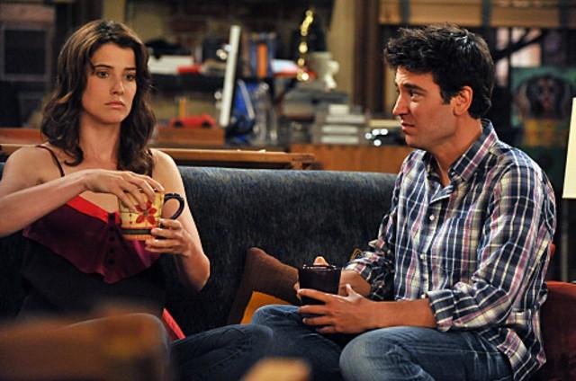 Josh Radnor e Cobie Smulders nell'episodio Big Days, premiere della stagione 6 di How I Met Your Mother