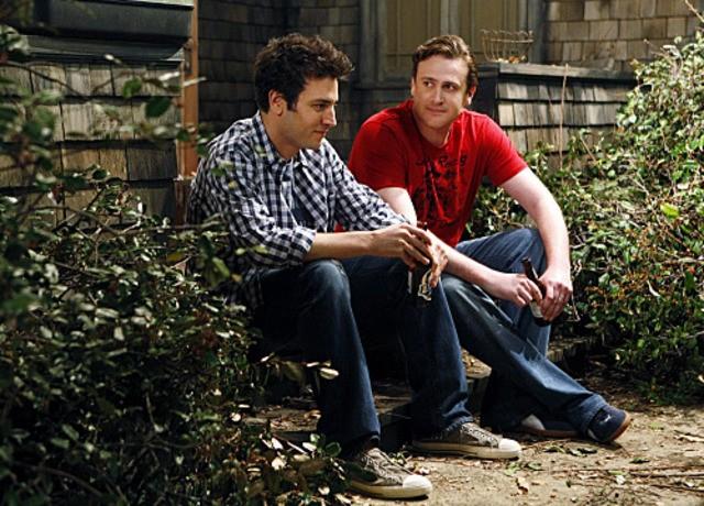 Josh Radnor e Jason Segel nell'episodio Home Wreckers di How I Met Your Mother
