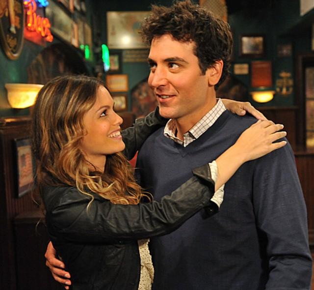 Josh Radnor e Rachel Bilson nell'episodio Big Days, premiere della stagione 6 di How I Met Your Mother