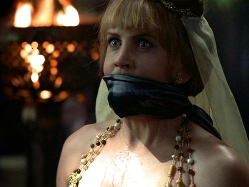 Renee O\'Connor in Xena e il matrimonio di Olimpia