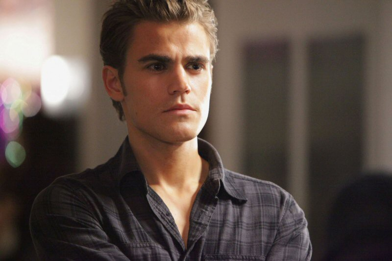 Stefan (Paul Wesley) in un momento dell'episodio Brave New World di Vampire Diaries