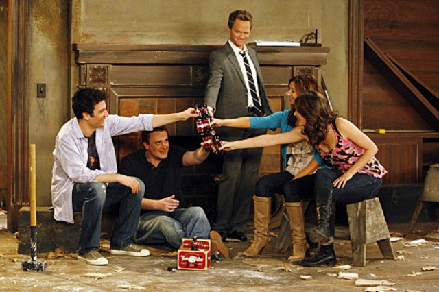 Una scena dell'episodio Home Wreckers di How I Met Your Mother