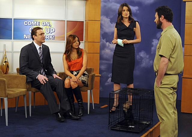 Una scena dell'episodio Zoo or False di How I Met Your Mother