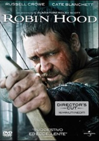 La copertina di Robin Hood (dvd)