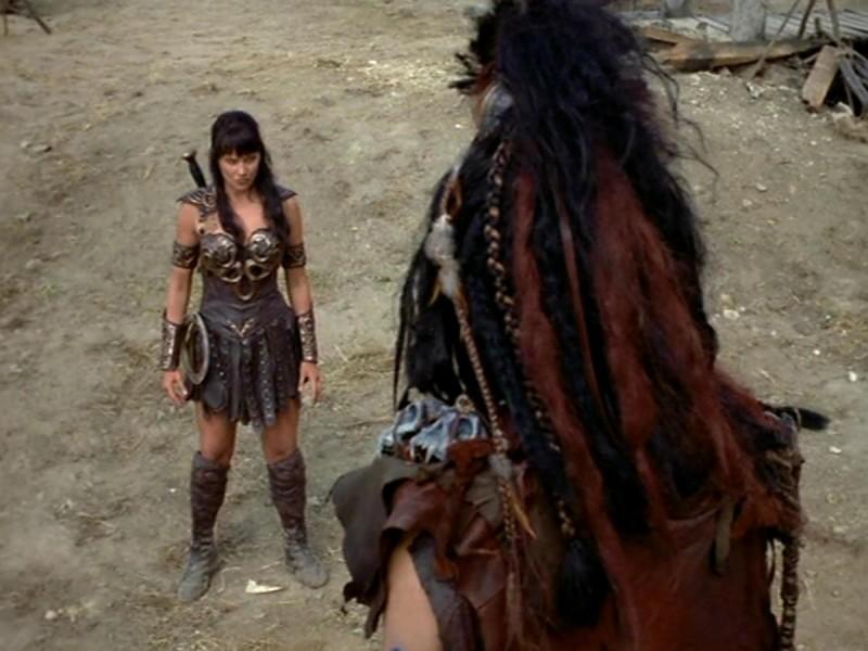 Lucy Lawless in Xena e il ritorno al passato