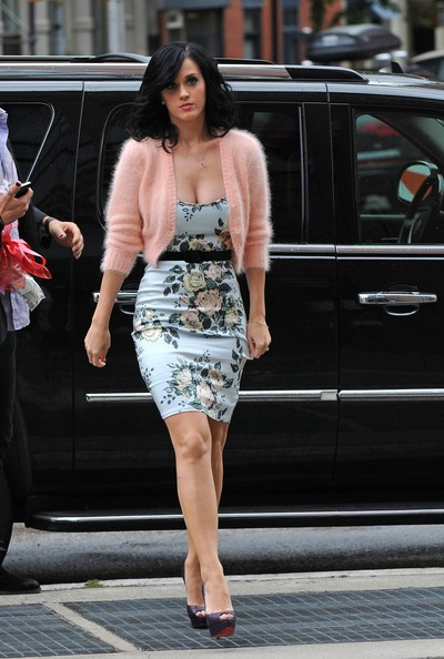 Outfit vintage per Katy Perry a New York.