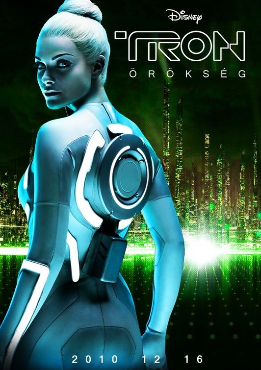Uh poster ungherese per Tron Legacy