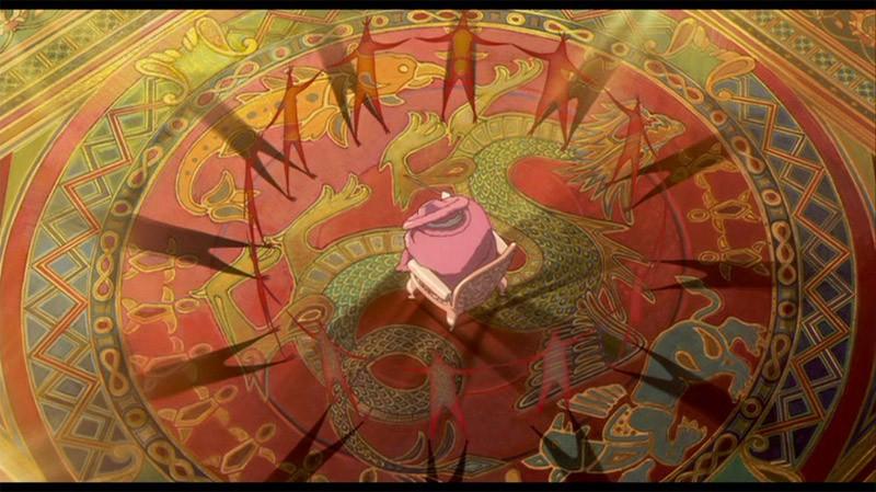 Una magica scena del film d\'animazione Il castello errante di Howl