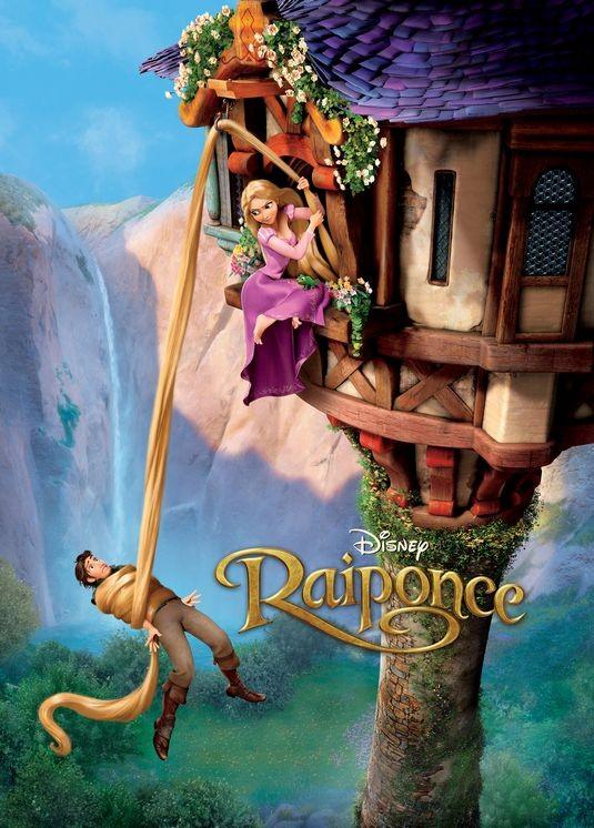 Poster francese per Rapunzel - L'intreccio della torre