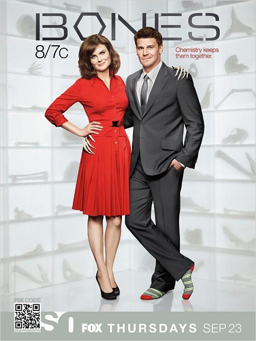 Un poster per la stagione 6 di Bones