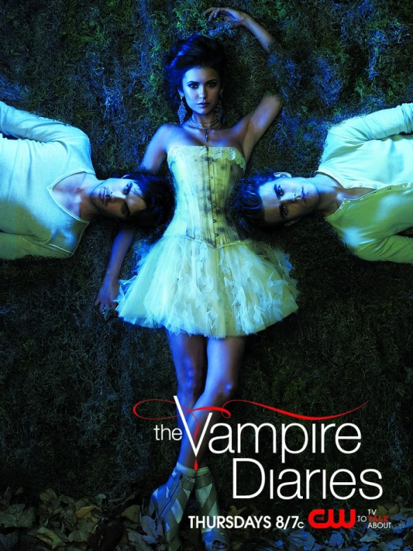 Uno dei poster della stagione 2 di The Vampire Diaries