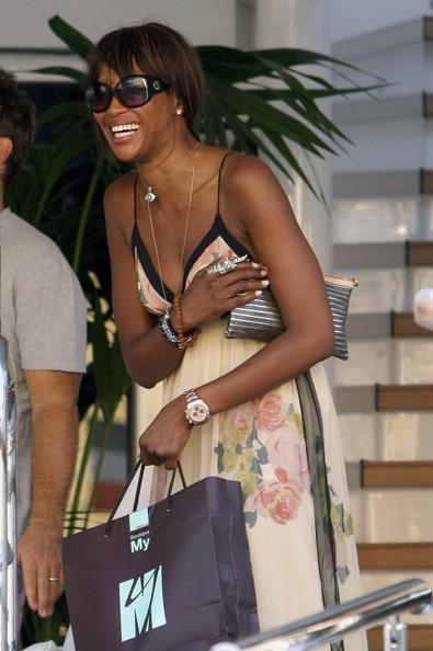 Estate 2010, Naomi Campbell a Saint Tropez