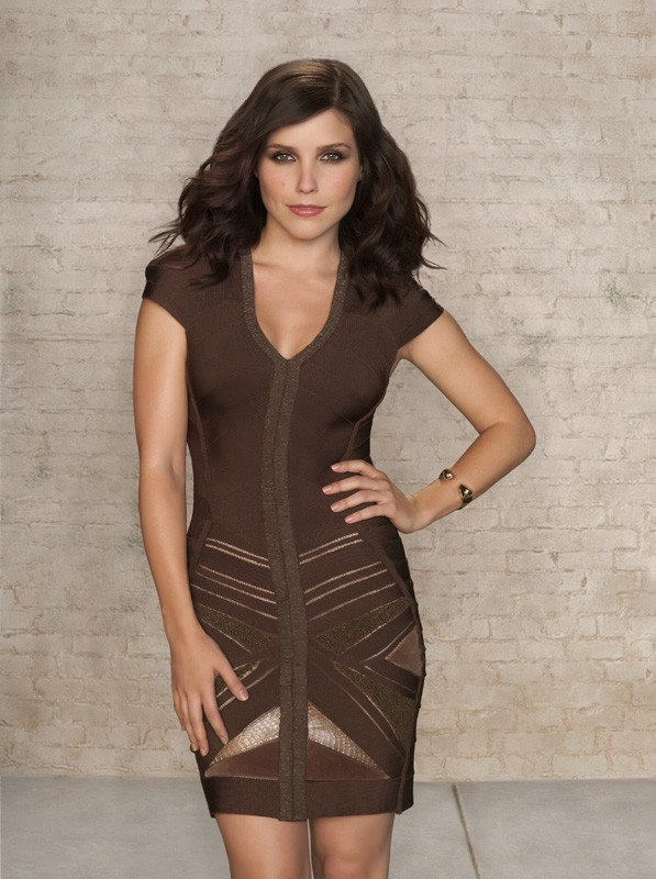 Un'immagine promo di Sophia Bush per la stagione 7 di One Tree Hill