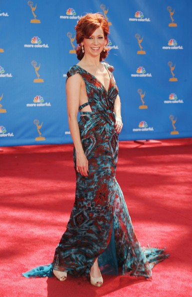 Carrie Preston sul red carpet degli Emmy 2010