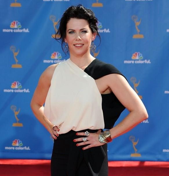 Lauren Graham sul red carpet degli Emmy 2010