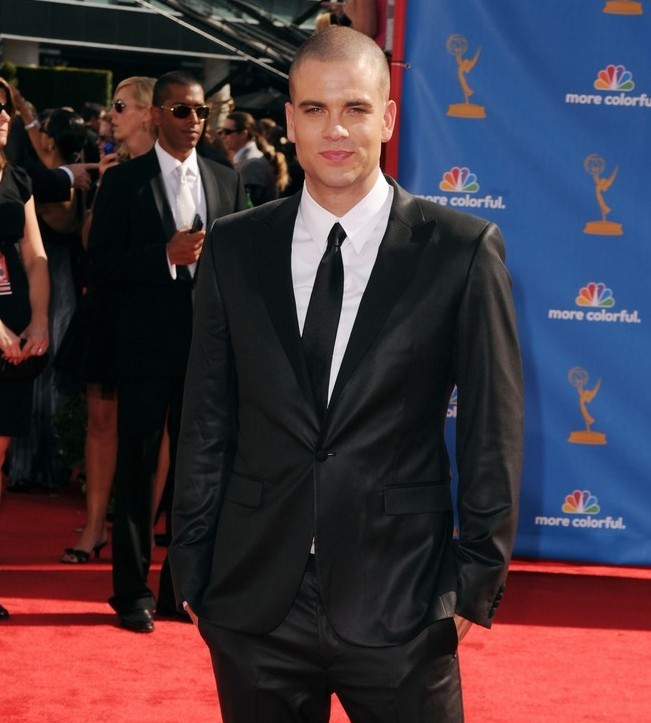 Mark Salling  sul red carpet degli Emmy 2010