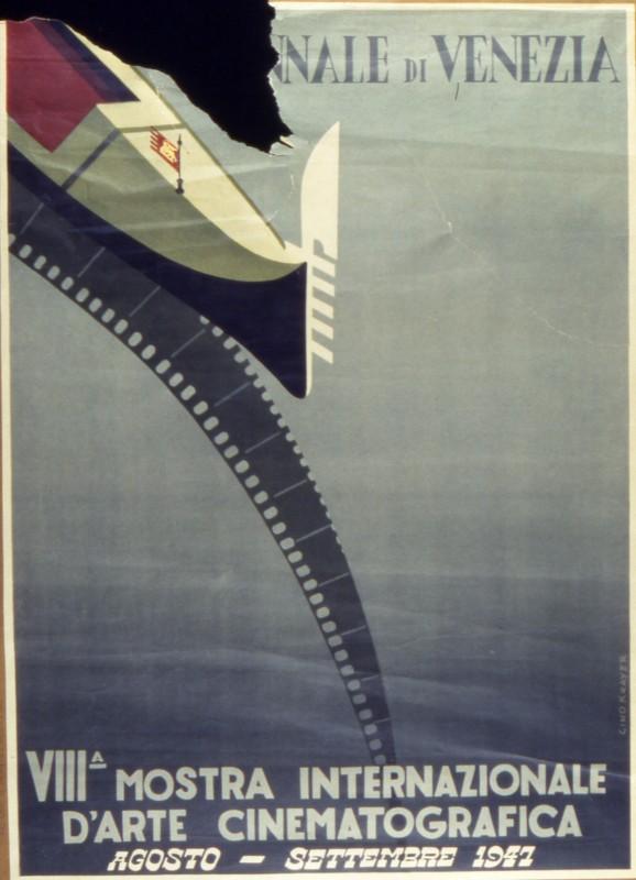 Mostra del Cinema di Venezia 1947, il manifesto